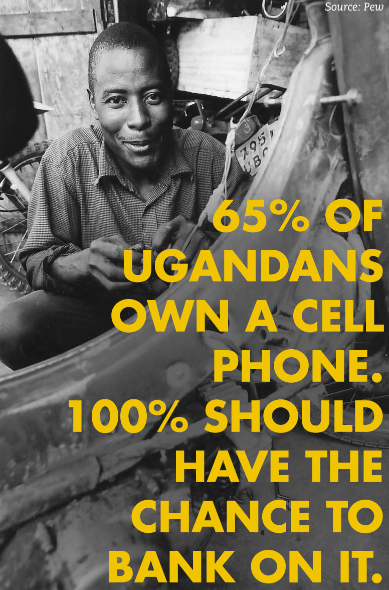 65%mobile money