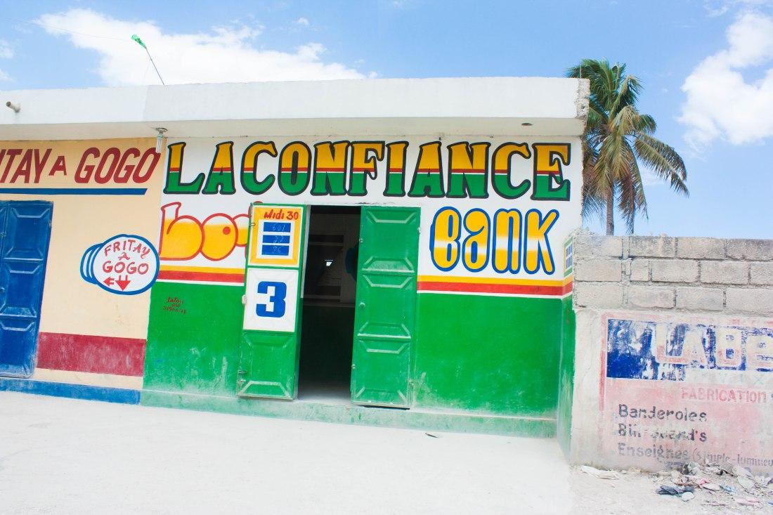 Sydney Moyer in Haiti for Accion